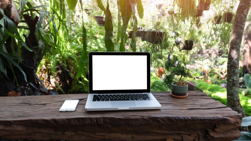 Outdoor office: il verde, l'aria e l'ispirazione